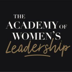 Academy of Women Leadership logo