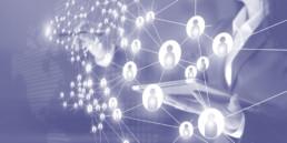 a network of nodes